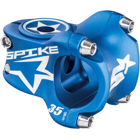 Spank Spike Race Vorbau Ø 31,8 mm shotpeen blue